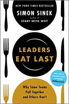Book Cover - Leaders Eat Last