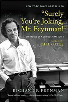 Surely you're joking Mr Feynmann